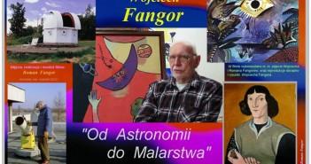 Plansza dotycząca filmu o prof. Wojciechu Fangorze / Credits - Roman Fangor