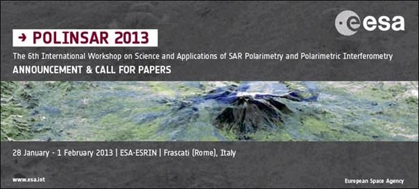 POLinSAR 2013 / Credits: ESA