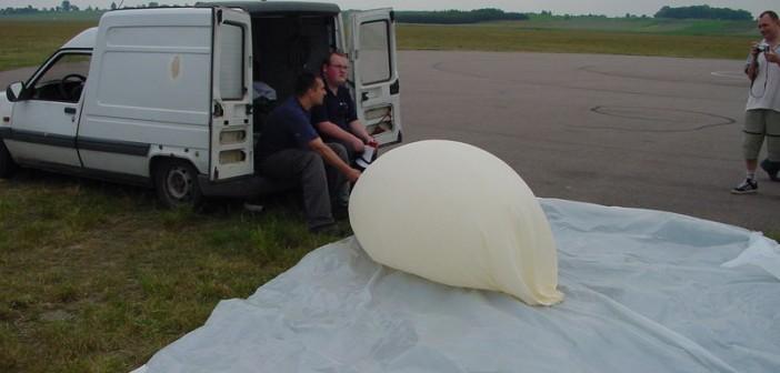 Przygotowania do startu ostatniej misji balonu stratosferycznego z Gliwic / Credits: Copernicus Project