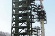 Rakieta Unha-3 - jeszcze na wyrzutni (zdjęcie z 2012 roku) / Credits - AP