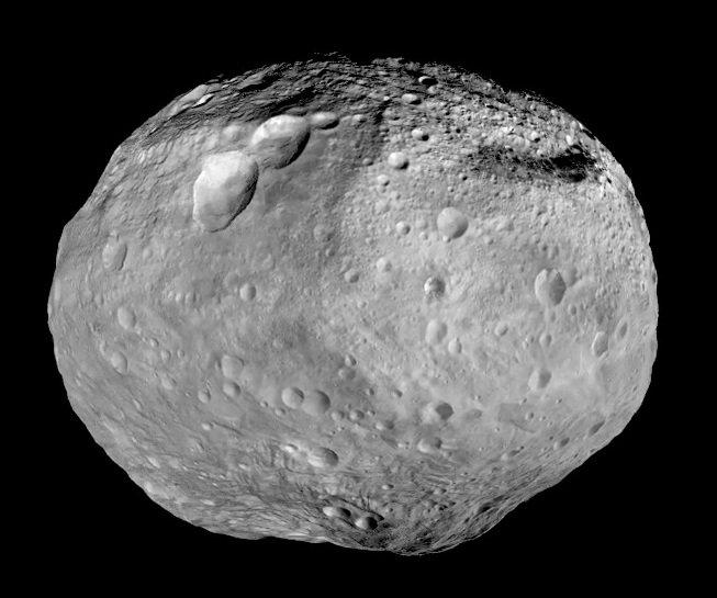 Planetoida 4 Westa / Credits - NASA/JPL-Caltech/UCAL/MPS/DLR/IDA