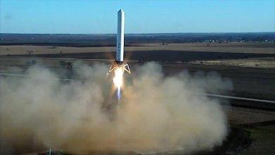 Test rakiety Grasshopper - 17.12.2012 / Credits - SpaceX