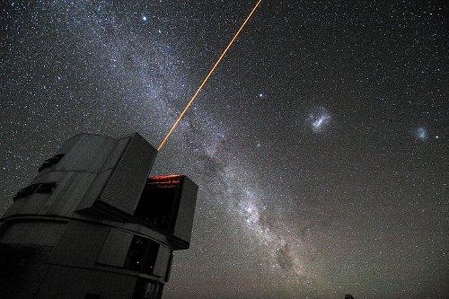 Jeden z teleskopów należących do ESO / Credits - ESO