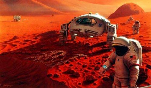Załogowa wyprawa na Marsa - czy ryzykowna? / Credits - NASA
