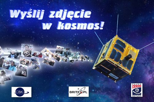 Akcja Wyślij zdjęcie w kosmos! Credits: CBK PAN