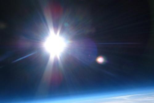 Zdjęcie z misji balonowej Hevelius 3 - 14.11.2012 / Credits - zespół Hevelius