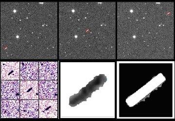 Obrazy uzyskane podczas odkrycia 2012 DA14 / Credits - Jaime Nomen, La Sagra Observatory