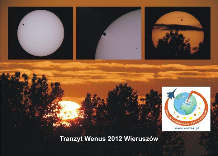Obserwacje tranzytu Wenus w 2012 roku z Koła WIERAS / Credits - WIERAS
