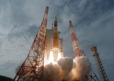 Start rakiety H2A - 27.01.2013 / Credits - JAXA