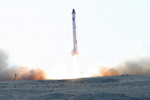 Prawdopodobnie oficjalne zdjęcie z dzisiejszego startu rakiety Kavoshgar-5 / Credits: iranmilitaryforum.net