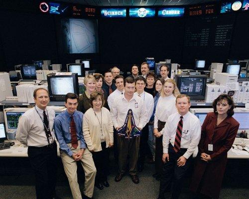 Trzecia zmiana obsługi naukowej modułu SPACEHAB - zdjęcie z 30 stycznia 2003 / Credits - NASA