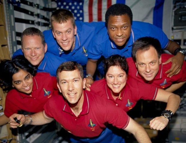 Załoga misji STS-107 / Credits - NASA