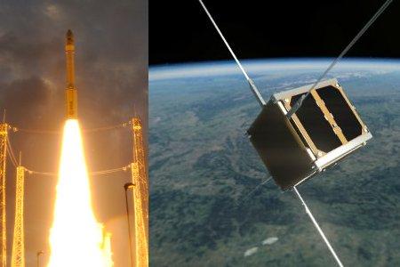 Vega and PW-Sat / Credits - ESA and PW-Sat