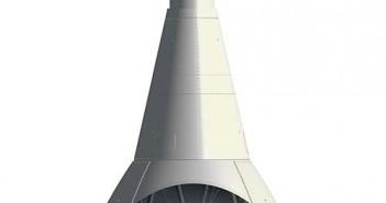 Schemat statku Orion MPCV (Multi-Purpose Crew Vehicle) / Credits: NASA