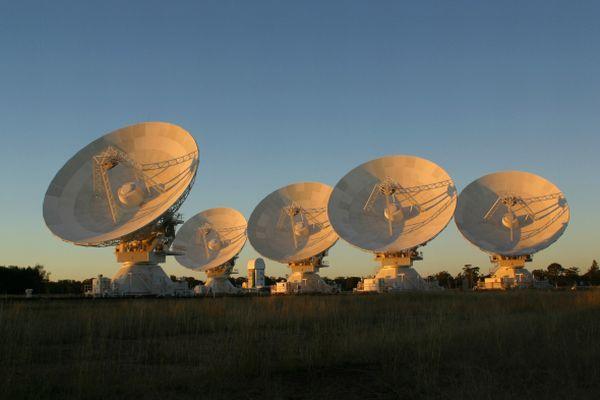 Radioteleskop CSIRO Australia Telescope Compact Array / Credits: David Smyth
