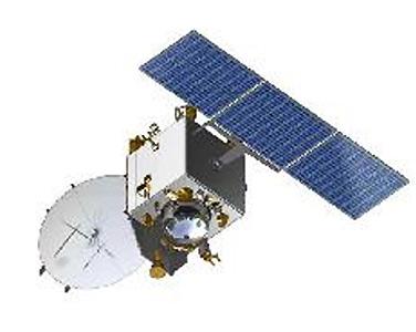 Grafika przedstawiająca sondę MOM / Credits - ISRO