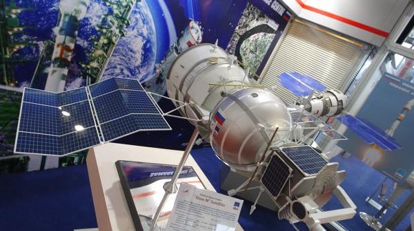 Model satelity Bion-M / Credits: RIA Nowosti, Michaił Kutuzow