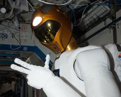 Robonauta 2 na pokładzie ISS / Credits - NASA
