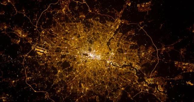 Londyn z pokładu ISS / Credits - NASA