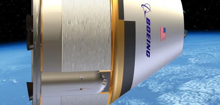 Wizja artystyczna kapsuły CST-100 firmy Boeing / Credits: Boeing