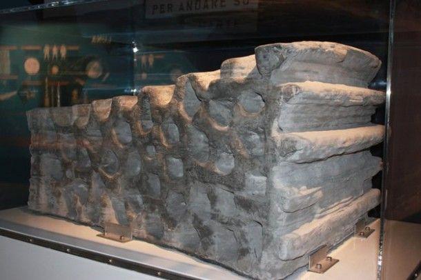 Demonstracyjny blok wyprodukowanego elementu bazy księżycowej / Credits: ESA