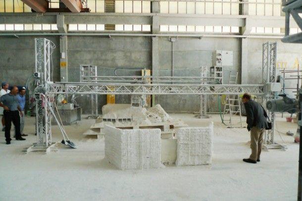 Struktura pomocnicza do procesu drukowania 3D / Credits: ESA