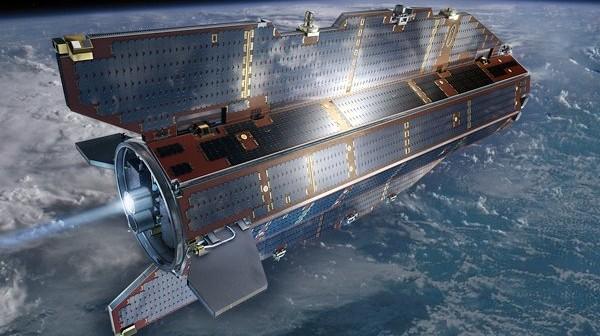 Satelita GOCE / Credits - ESA