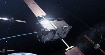 Satelita Galileo - wizualizacja / Credits - ESA