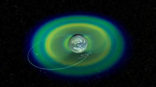 Wizualizacja pasów radiacyjnych Van Allena / Credits - NASA