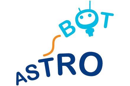 Logo konkursu ASTROBOT / Credits - organizatorzy konkursu ASTROBOT