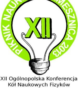 Logo konferencji Koła Naukowego Fizyków