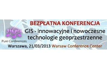Logo Konferencji GIS 21.03.2013 / Credits - organizatorzy konferencji