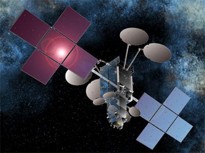 Satelita NCN Co - wizualizacja / Credits: Space System Loral