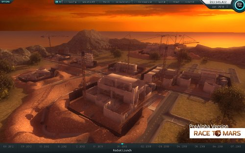 Screen from Race To Mars game / Credits - INTERMARUM