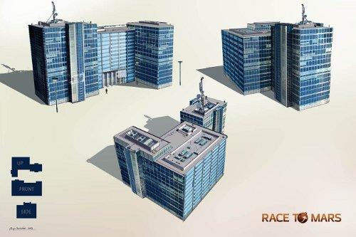 Pierwszy widok na grę Race To Mars / Credits - INTERMARUM