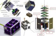Przykłady mikro i nanosatelitów ostatnich lat / Credits - NASA, SFL, Almaspace, CBK, Nanosatisfi