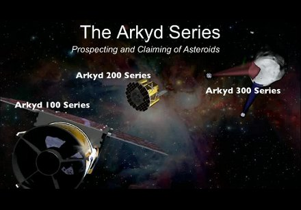Seria satelitów Arkyd / Credits - Planetary Resources
