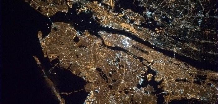 Nowy Jork widziany z pokładu ISS / Credits - Chris Hadfield, CSA, NASA