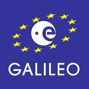 Logo programu Galileo - europejskiego GNSS / Credits: Komisja Europejska, ESA