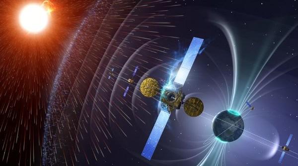 Pogoda kosmiczna w wizji ESA / Credits - ESA
