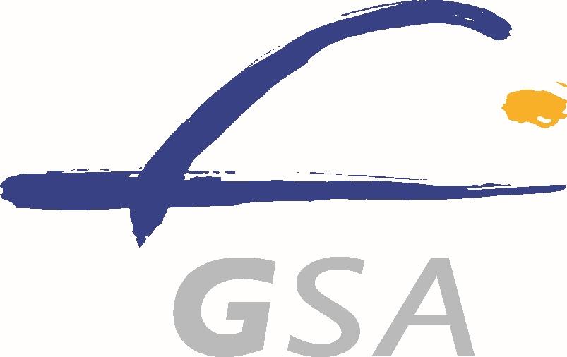 Logo GSA / Credits: GSA, Komisja Europejska