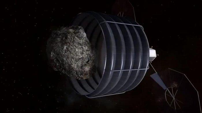 Pierwsza faza ARM - przechwycenie planetoidy / Credits - NASA