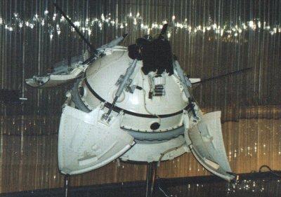 Model lądownika misji Mars 3