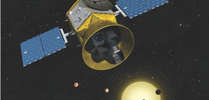 Misja TESS / Credits - NASA, MIT