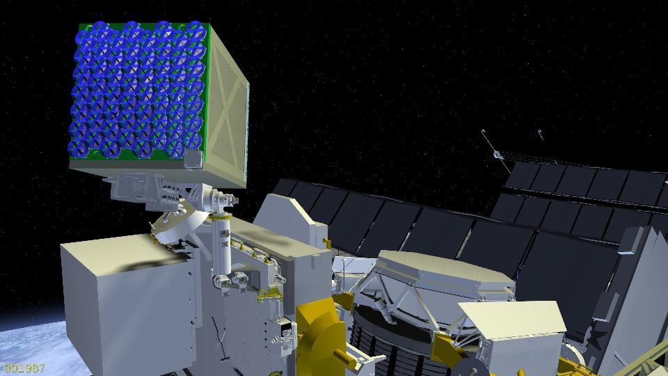 NICER-SEXTANS na ISS / Credits: NASA