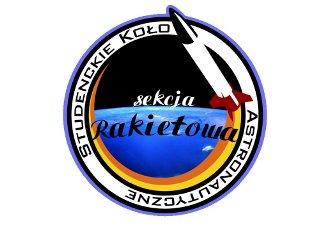 Logo Sekcji Rakietowej SKA / Credits - SR SKA