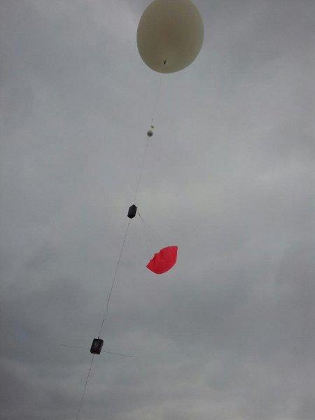 Start balonu CP20 - 06.04.2013 / Credits - Tomasz Brol