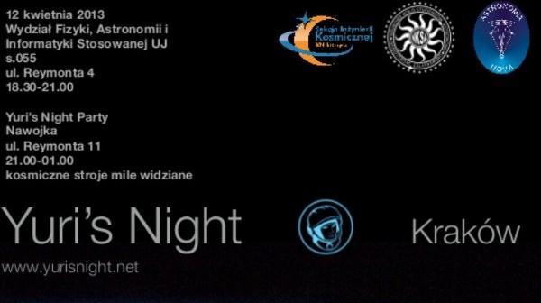 Yuris Night 2013 / Credits - organizatorzy Yuris Night w Krakowie