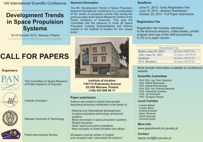 Plakat konferencji / Credits - organizatorzy DTiSPS