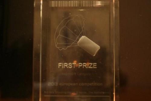 Nagroda dla zespołu KrakSat / Credits - KrakSat team